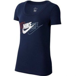 Nike Women's Dri Fit Scoop Neck Tee Shirt